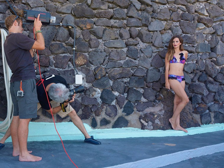 foto making of coleccion Cote and Badt