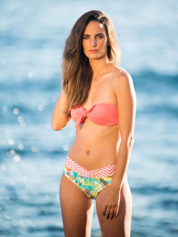 Raquel modelo agencia Bewateragency para la coleccion Cote and Badt