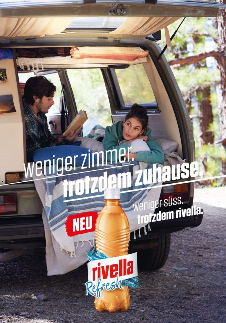 Bewateragency models participated in the new Rivella campaign