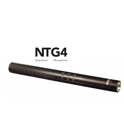 RODE NTG4 direccional micrófono de condensador